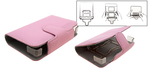New Artificial Leather Case Bag for Nintendo DS NDS Lite Pink