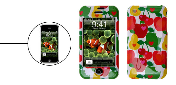 Colorful Aloha Shirt Plastic Protector Hard Case for Apple iPhone 1st Generation