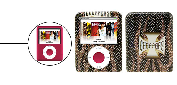 Choppers Plastic Protector Hard Case for  iPod Nano 3G