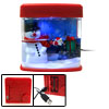 Mini X\'mas Desktop Snowman USB Aquarium
