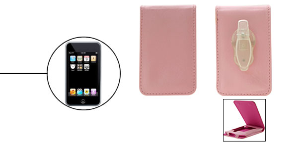 Pink Leather Protector Case For Apple iPod Touch 1st Generation