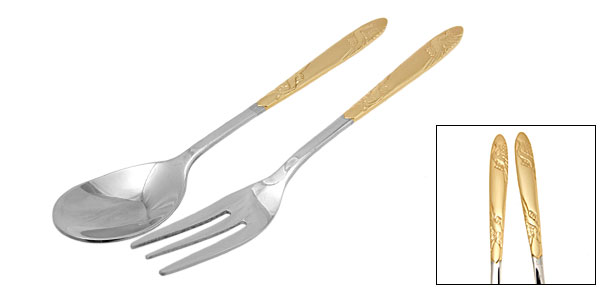 Stainless Steel Fork And Spoon Cutlery Set