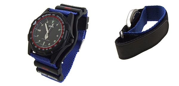 Fashion Quartz Sport Nylon Wrist Watches
