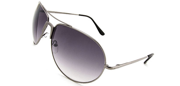 Classic Aviator  Metal Black Fashion Eyewear Sunglasses