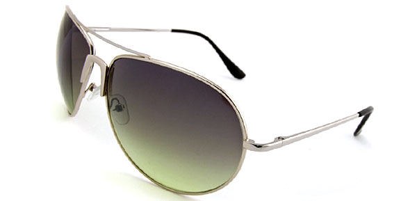 Classic Aviator  Metal Green Fashion Eyewear Sunglasses