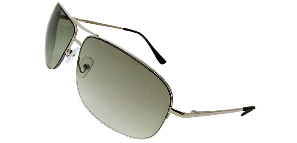 De Luxe Aviator  Green Fashion Eyewear Sunglasses