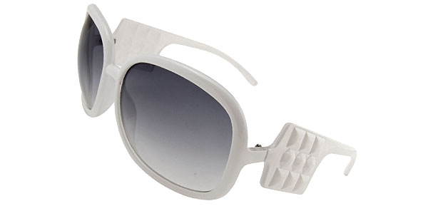 Audrey White Fashion Eyewear Sunglasses