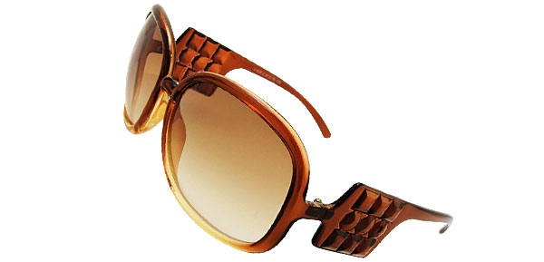 Audrey  Brown Fashion Eyewear Sunglasses