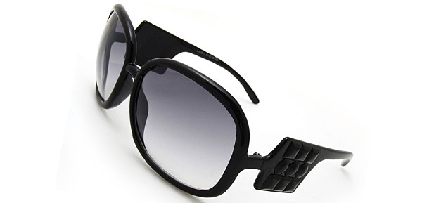 Audrey  Black Fashion Eyewear Sunglasses