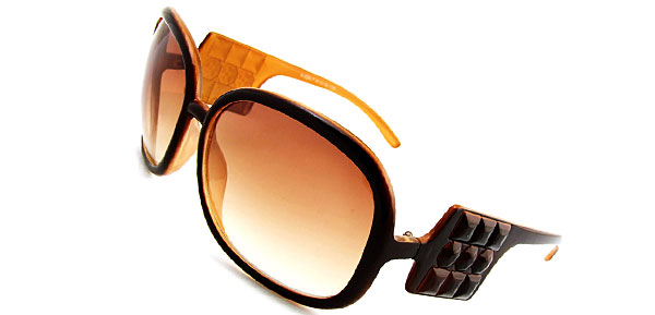 Audrey Navy Brown Fashion Eyewear Sunglasses