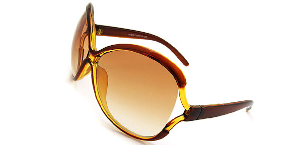 Charlize Brown Fashion Eyewear Sunglasses