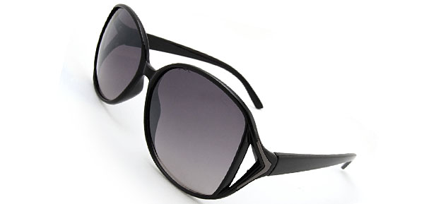 A GO GO  Black Fashion Eyewear Sunglasses