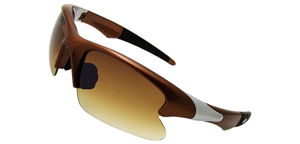 Extreme Chic Brown Fashion Eyewear Sunglasses