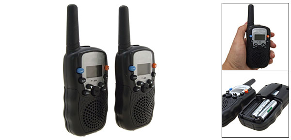 5Km 22 Channel 2-Way Radio Walkie Talkies Talk-back Caller Interphone