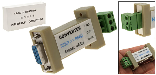 Serial RS232 to RS485 Converter Adapter for DVR system