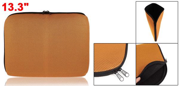 14.1'' Laptop Notebook Holder Orange Carrying Case Bag