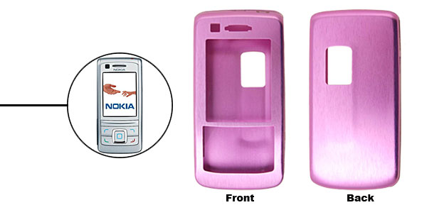 Purple Slim Aluminum Protector Hard Case for Nokia 6280