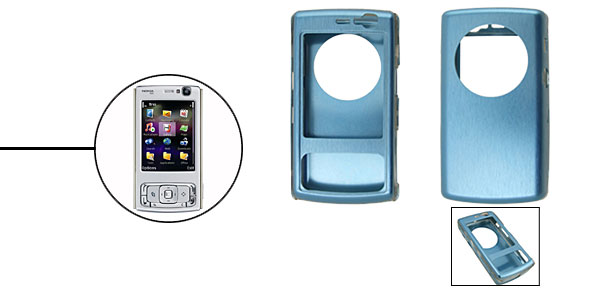 Super Slim Aluminium Metal Skin Case Cover For NOKIA N95 Blue