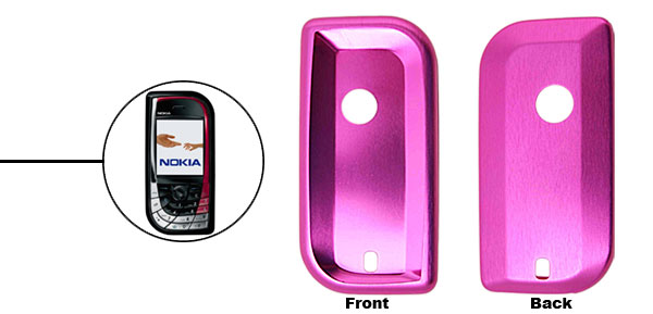Purple Super Slim Aluminum Protector Hard Case for Nokia 7610