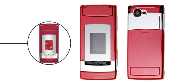 Red Housing Faceplate Cover for Nokia N76
