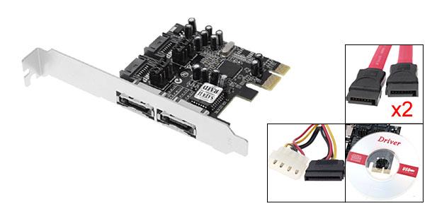 PCI-E 3132 PCI Express Serial ATA RAID Controller Card