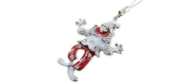Jewelry Clown Rhinestone Mobile Cell Phone Pendant Strap