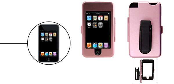 New Aluminium Metal Hard Enclosure Case For IPod Touch Pink 1st Generation