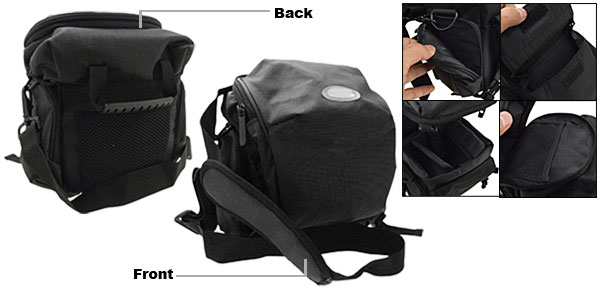 Cool Black Camera Backpack SLR Digital Camcorder Shoulder Bag Case