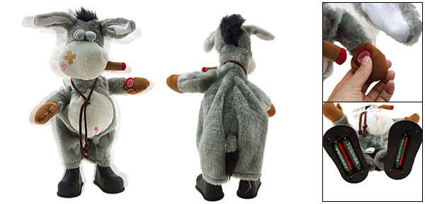 Fur Happy Funny Singing & Dancing Smoking Wiggles Donkey Toys