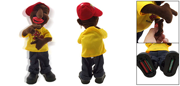 Happy Valentine Funny Singing Dancing Hip Hop Singer Toys 15 inch High