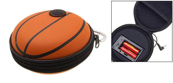 Portable Basketaball Carrying Case Speakers for iPod MP3 MP4 CD