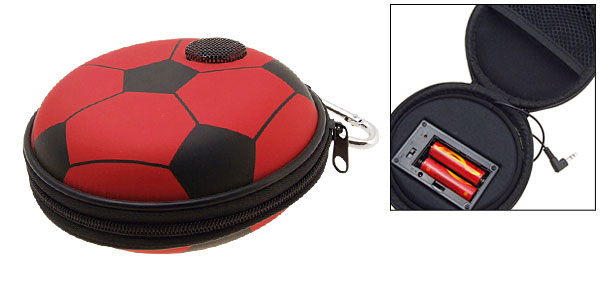 Portable Football Carrying Case Speakers for iPod MP3 MP4 CD