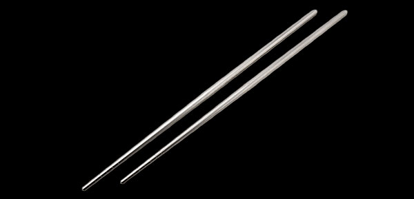 Stainless Steel Chinese Chopsticks Silvery Color