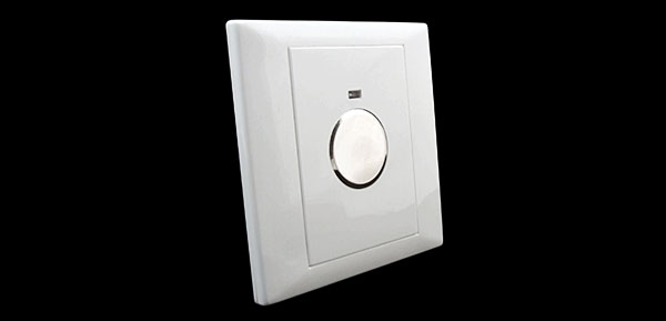 White Pressure Sensitive Touch Light Switch for Night