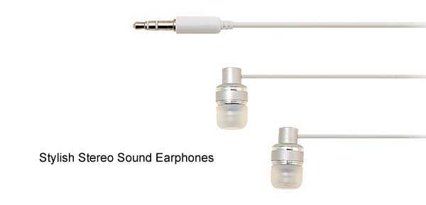 White 3.5mm Audio Microphone Stereo Earphones Headphones for MP3 MP4 Player