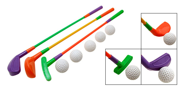 Toy mini Golf Clubs Golfing Sport Games Set Fun Supplies Gift