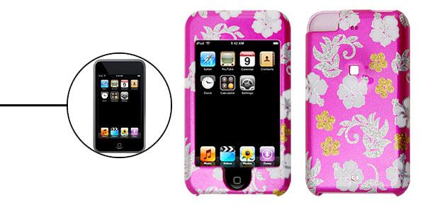 Rosered Plastic Protector Hard Case for Apple iPod Touch 1st Generation