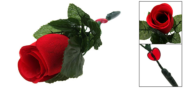 Romantic Musical Red Rose Flower Best Gift for Your Lover