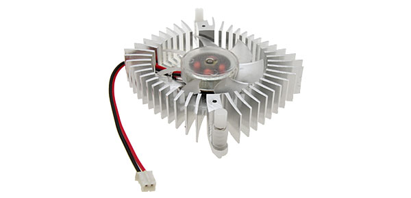 PC VGA Video Card Heatsink Cooler Cooling Fan 7cmx1.5cm 2 Pin