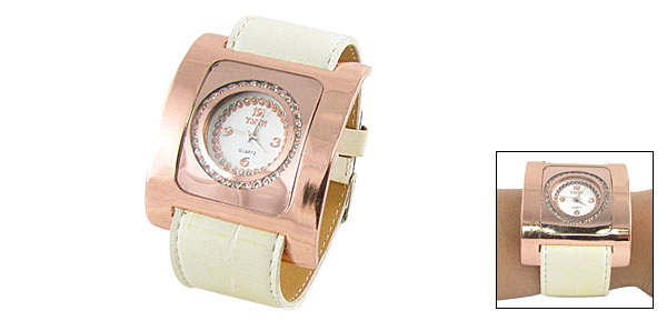 Fashion Jewelry Square Ladies Wrist Quartz Strap Watches