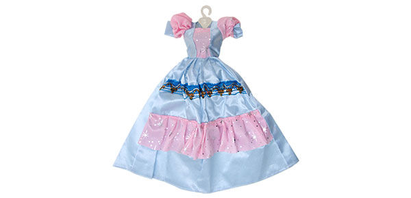 Fashion Wedding Party Doll Fairy Princess Cloth Dress