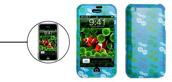 Fashion Fruit Pattern Apple iPhone 1st Generation Plastic Protector Hard Case Cover