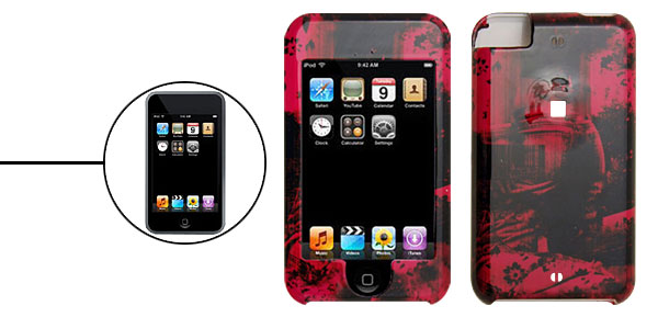 Abstract Pattern Plastic Protector Hard Case for Apple iPod Touch 1st Generation