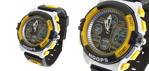 Multifunction Digital Night Vision Sports Watch