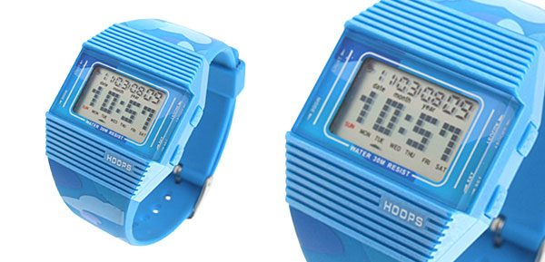 Blue Novelty Waterproof Multifunction Sports Watches
