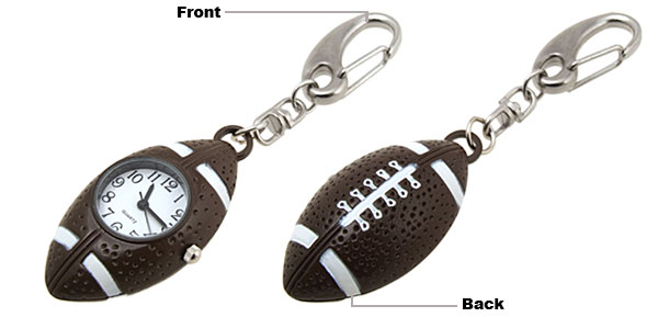 Mini Football Quartz Watch with Key Chain