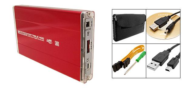 Carmine USB 2.0 2.5