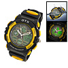 Multifunction Night Vision Unisex Sports Alarm Water Resistant Wa...