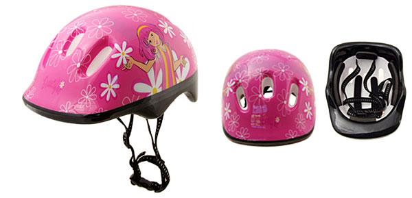 Pink Skateboard Motorcycle Rollerblade Helmet