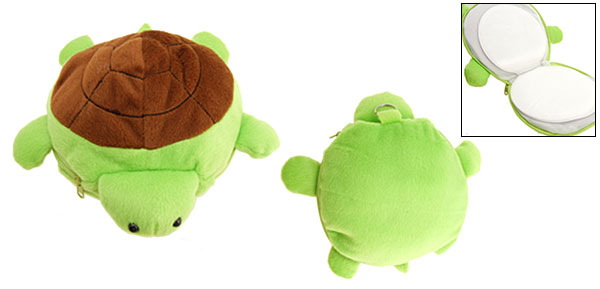 Lovely Portable Brown Turtle CD Carrying Case 12 PCS